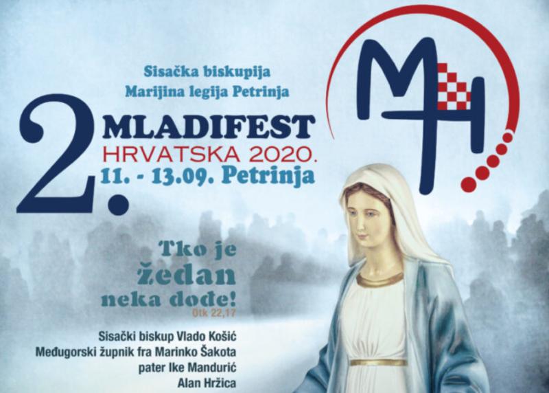 Najavljujemo i pozivamo na 2. Mladifest u Hrvatskoj (u Petrinji)