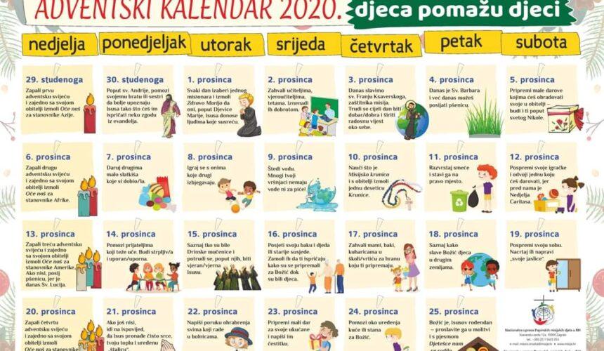 Adventski kalendar za djecu